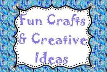 Fun Crafts & Creative Ideas / by Lesson Lady