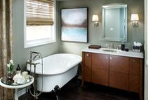 Beautiful Bathrooms / by sandee astrachan {stems flower market}