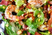 easy  salads / by Bettie Felder