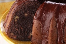 easy made in the home cakes(cake mix) / Even if you unwrap it and put it on a pretty dish 'Its made in the home with love!!! B / by Bettie Felder
