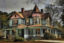 Victorian Homes / by Carol Parsons - Crafters Corner Cafe'