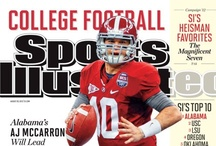 Alabama SI Covers / An archive of all Sports Illustrated covers featuring University of Alabama Crimson Tide athletics. / by Stan W