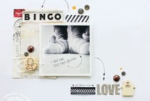 Layout Love  (Scrapbooking) / digital and paper scrap creations that I love.  / by Mary Rogers