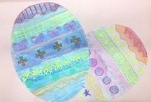 Easter Art Lessons / by Mary Batson