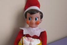 Christmas: Elf on a shelf / by Savanna Mullan