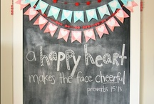 .chalkboards. / cute & inspiring ideas with chalkboards / by Jaymie Schepers
