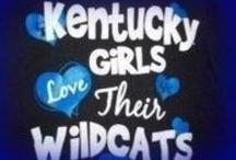 Go BIG BLUE  / Love my Kentucky Wildcats  / by Amy Jarnigan