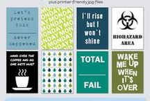 .project life printables. / printables for your project life album / by Jaymie Schepers