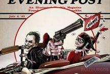 Superheroes and Super Villians / by Randy Eveland