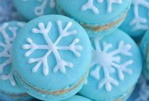 Blue and White Snowflakes Party Ideas / by Bird's Party