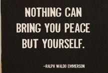 Ralph Waldo Emerson  / Poet: Ralph Waldo Emerson / by Stephanie Smith