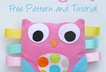 Fabric and Felt Stuffies / by Dianne Kruger
