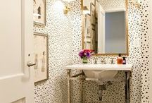bathrooms / by Taylor Greenwalt Interiors