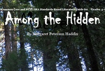 Teaching Among the Hidden / #Teaching #resources for the Among the Hidden series by Margaret Peterson Haddix / by Secondary Solutions