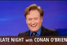 Late Night With Conan O'Brien / Comedian and TV host Conan O'Brien blazed a new trail after his highly public rift with longtime employer NBC. He inherited Late Night from David Letterman, which he hosted from 1993 to 2009, before taking over The Tonight Show for just a few months. His highly public ouster angered fans, who followed him on a nationwide live comedy tour/documentary and eventually to his simply titled late night talk show on TBS, Conan, which he has led since 2010, with returning longtime sidekick Andy Richter. / by RECAPO