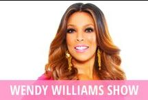 Wendy Williams Show / How you doin'? That's the question Wendy Williams asks her audience and guests every single day on her talk show, The Wendy Williams Show. She is going to be real with you and she will never back down from saying exactly what is on her mind. She has plenty of time to dish during each episode's Hot Talk segment, where she dives into the day's gossip news. Plus, the audience gets straight advice during her popular Ask Wendy segments. Celebrity guests also often get grilled in Wendy's Hot Seat. / by RECAPO