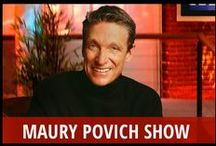 Maury Povich Show / It may be hard to believe that Maury Povich has been hosting a daily talk show since 1991, but it is true. The show came on the scene at a time when tabloid talk was just becoming a popular genre, and it has endured through thousands of episodes and stayed on the air while countless other hosts and programs have come and gone. Its simple formula of real guest confrontations, DNA tests, and lie detector results is enduringly popular with fans, who have been coming back for more for over 20 years! / by RECAPO