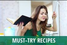 Must-try Recipes / Do you love spending time in the kitchen? Television is a great resource when you are learning to cook or expanding your skills. Celebrity chefs are often invited as guests, or they have shows like The Chew to share expertise with you in a way that makes cooking fun and accessible. You can impress your friends with dinner recipes & dessert recipes from Good Morning America or Today, or keep it healthy with a smoothie from The Doctors and Dr Oz's green drink recipe. Try them all on this board! / by RECAPO