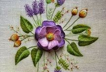 ♡ Embroidery to admire ♡ / I have been doing embroidery for about 35 years.... makes me feel very old!! I love to embroider. This board is where I will put photos of gorgeous embroidery, embroidery that is a work of art / by Lydias Treasures - Lisa