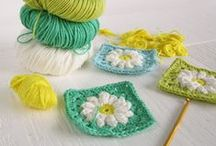 ♥ Crochet  ♥ / I love to knit and crochet. I am very inspired by the beautiful creations that people are making in the current trend of crochet. The colour combos are amazing / by Lydias Treasures - Lisa