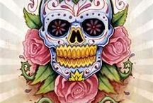 Skulls and stuff / mostly pretty things with skulls / by Leslie Ganick-Wilson