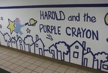Harold and the Purple Crayon Classroom / There are tons of ways to decorate and create lessons based off of the timeless children's book Harold and the Purple Crayon!  / by HarperCollins Children's