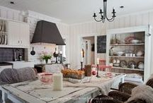 kitchen / by Stef* Shabby & Country Life