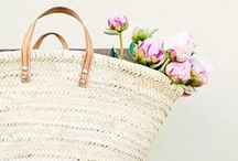 bags // baskets / Obsessed with bags... I want them all of course / by greige design