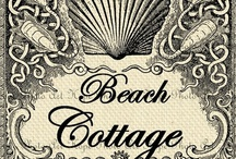 cottage by the sea 1 / http://www.shaunaleelange.com / by shauna lee lange ~ art church