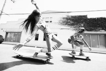 Ladies of Skate / Our dedication to the most talented and graceful ladies rollin' on four wheels or more. / by Thalia Surf