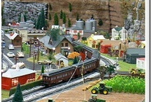 "Roads to Rails  / The Roads to Rails Model Train Display takes you to ""Tuckerville."" The display runs on the first Saturday of every month and throughout the Holiday season. / by AACA Museum"