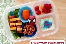 Little People: Our Bentos and School Lunches / The School Lunches I Make For My Kidlets ... I'm kinda addicted to this. / by Rachel Lacy (Following In My Shoes)