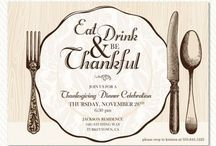be THANKFUL! / Thanksgiving tablescapes, decorations, recipes, and kid activities. / by Artsy Fartsy