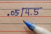 Let's Teach - Math / by Alya Faye