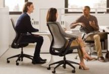 Generation by Knoll / Knoll has been pioneering seating technology for years. Today's chairs inherit a long legacy of thoughtful design.  Learn more about the Generation by Knoll family of work chairs, including Generation by Knoll, ReGeneration by Knoll, and MultiGeneration by Knoll. / by Knoll Design