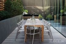 Let's Take This Outside / Ephemeral wire Bertoia chairs, elegant Schultz tables and seating -- KnollStudio outdoor collections are a classic expression of Modern design. / by Knoll Design