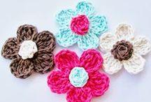 Crocheted flowers / by Teri Hallenbeck