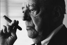Ludwig Mies van der Rohe / Regarded as one of the most important figures in the history of architecture, Ludwig Mies van der Rohe's 'less-is-more' approach to design was the gold standard for many generations of modern architecture. His legendary career started humbly at his father's stonemasonry business, giving him an early appreciation of material and structure.  / by Knoll Design