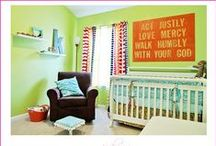 Home: Nursery & Kid's Bedrooms / by Betsy Smith