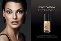 Dolce&Gabbana Lift Foundation and Primer / Iconic supermodel Linda Evangelista, chosen for her striking, timeless beauty and enduring vitality is illuminated with a fresh, natural glow and smooth flawless complexion, the campaign captures the youthful radiance of her skin.  Discover the Dolce&Gabbana Lift Foundation http://bit.ly/1qJJJP7 and Primer http://bit.ly/1t77MHt  #dgbeauty #dolcegabbana  / by Dolce & Gabbana