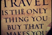 Travel Inspiration Quotes / Getting me in the mood to wander with inspirational words to live by and good old fashion quotes. / by Traveller's Magazine