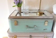Suitcase Hacks / We love vintage suitcases, so why not for decoration! / by Traveller's Magazine