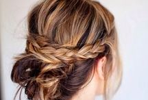 hair + beauty / style tips, cut and color ideas / by Lindsey Cheney