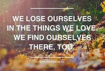 Quotes / by Samantha Wharry