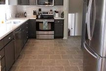 FLOOR: Tile / by Home Decor Inspiration by Carpet One