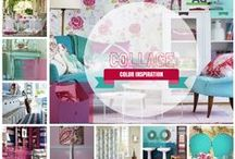 COLOR: Collage (Pantone 2014) / by Home Decor Inspiration by Carpet One