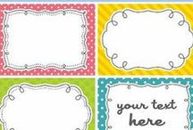 Printables / by Janelle Openshaw