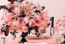 Inspiration - Pink & Black / by Posh Productions Catering and Events Orange County California