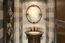 Beautiful Bathrooms / Or the library...! / by Robin Romans