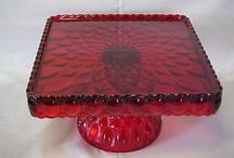Pedestal Cake Plates - Vintage / by Elaine Gitzel